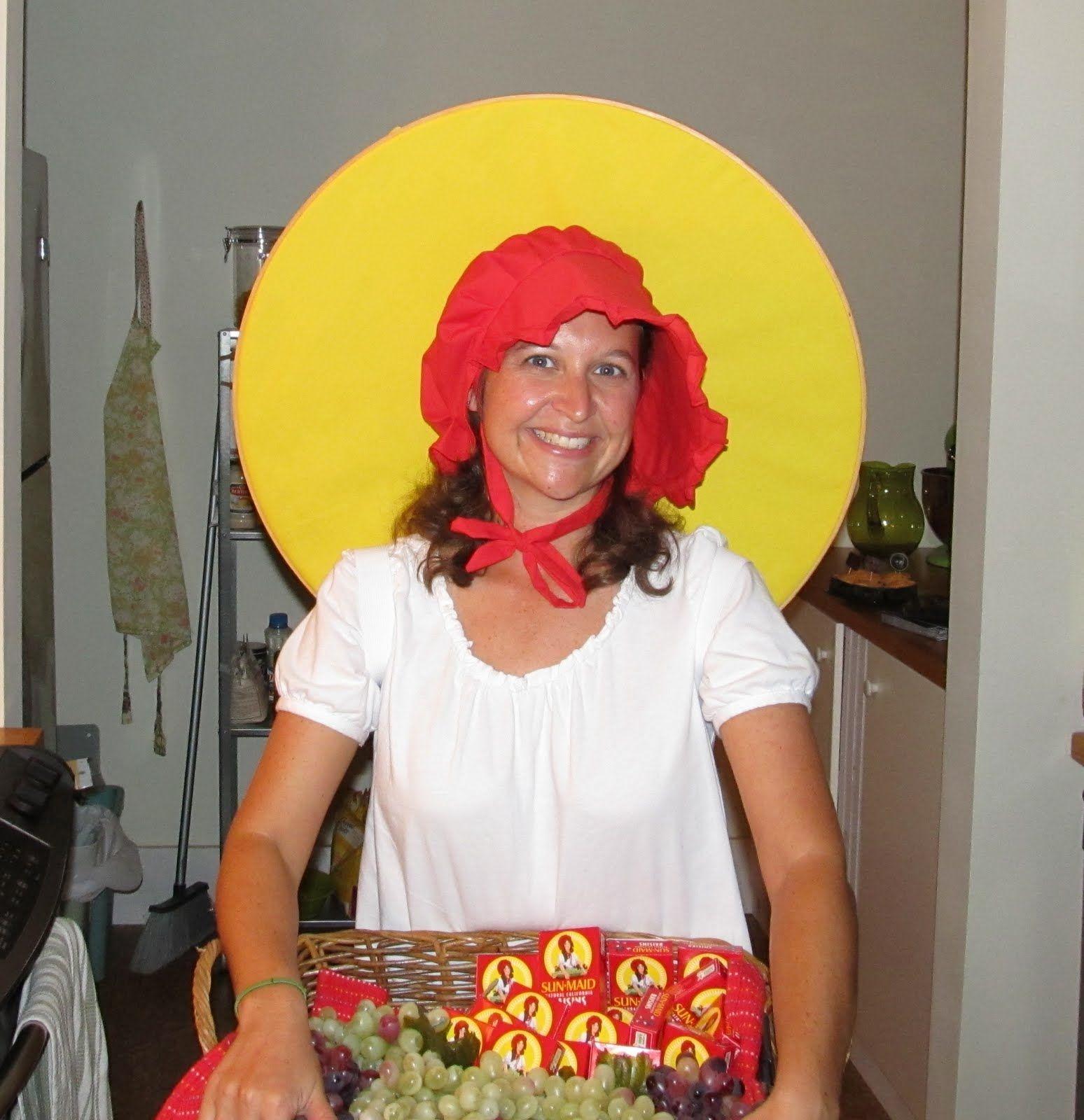 Sun-Maid Raisin box | Costume Ideas | Pinterest | Costumes and ...