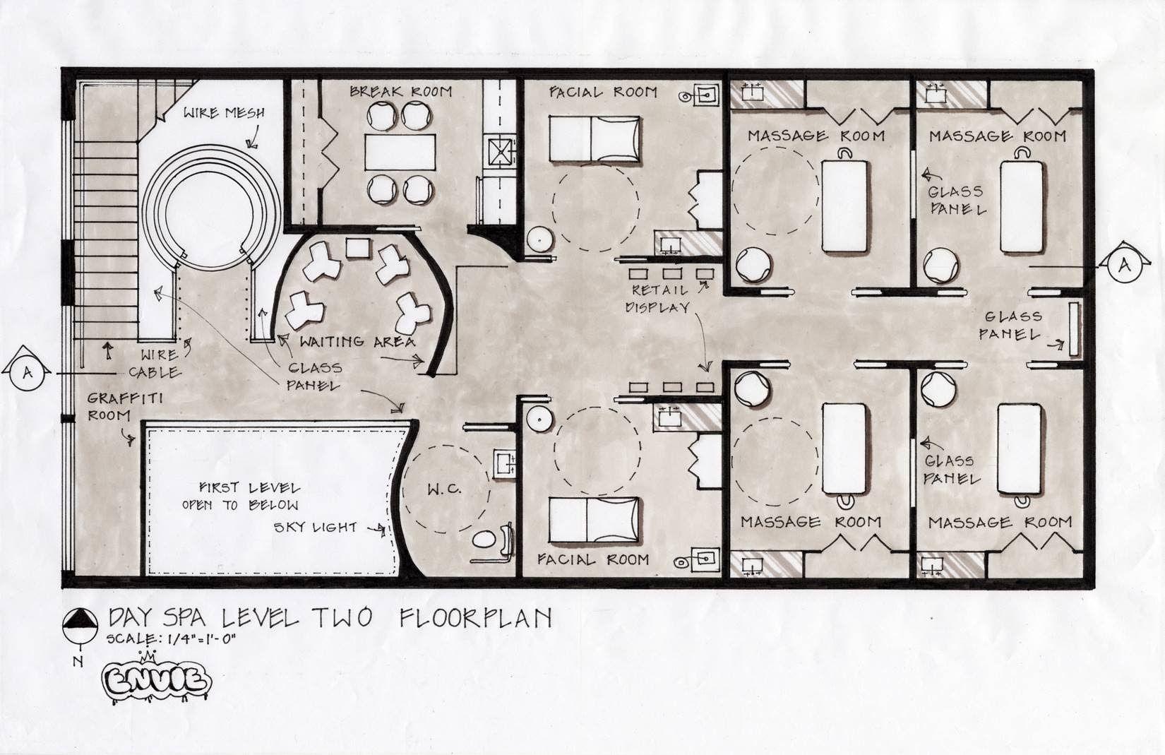 Enviedayspa Rachellejewel2 Spa Interior Design Spa Design