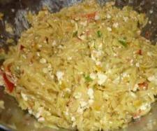 Rezept Griechischer Kritharaki- Salat von susi1402 - Rezept der Kategorie Vorspeisen/Salate
