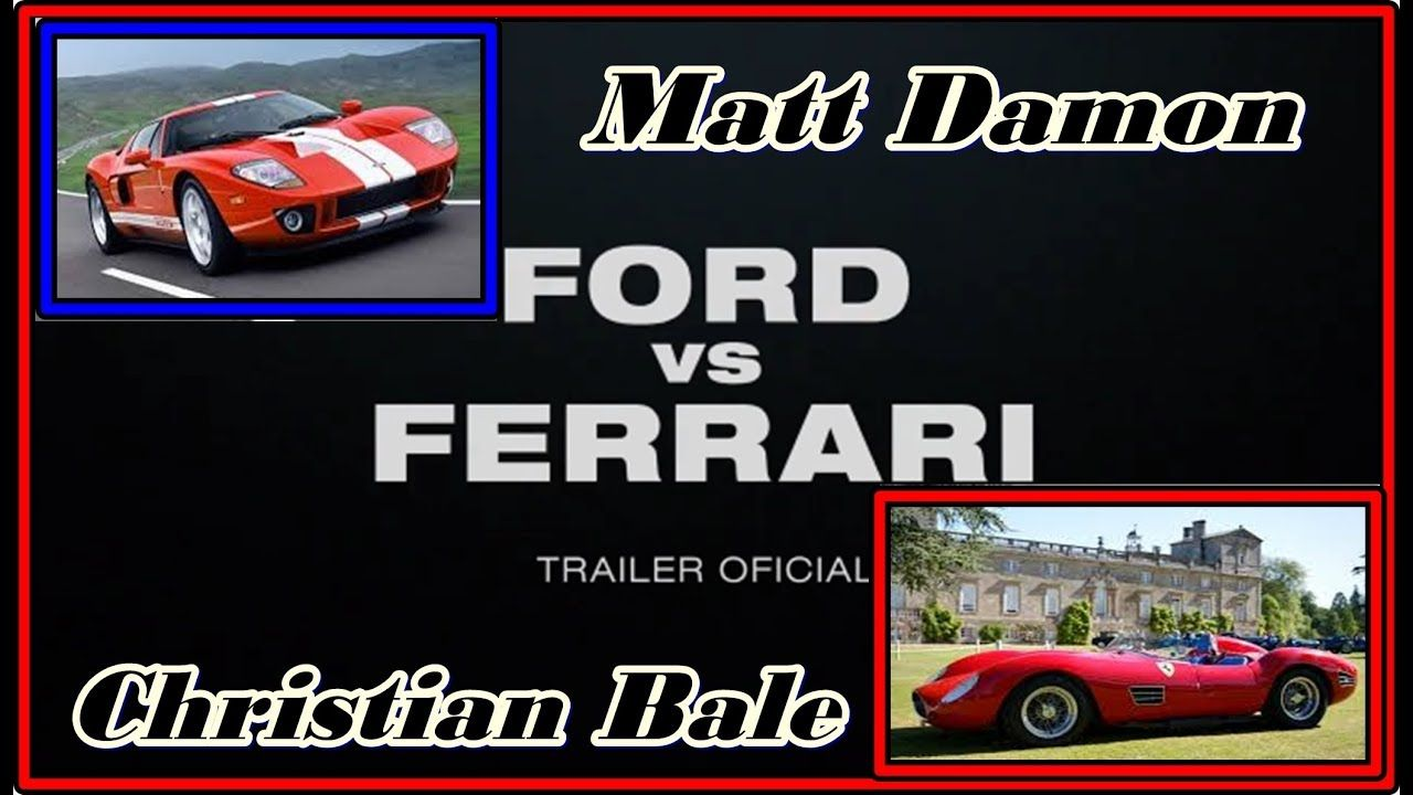 Ford Vs Ferrari Trailer Dublado 2019 Com Matt Damon E Christian