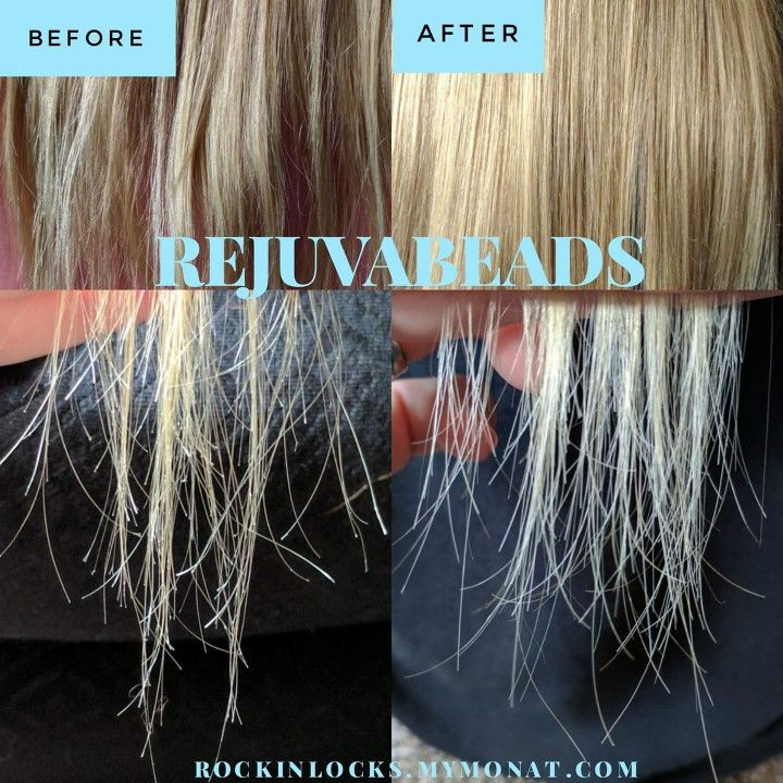 Monat Rejuvabeads Before and After!!! Woooooow! 100