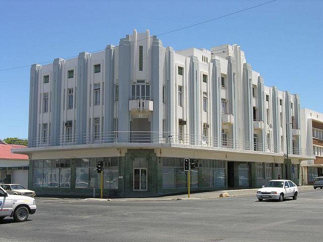 Art Deco Hoekbank.Amazing Art Deco Building In Worcester South Africa The