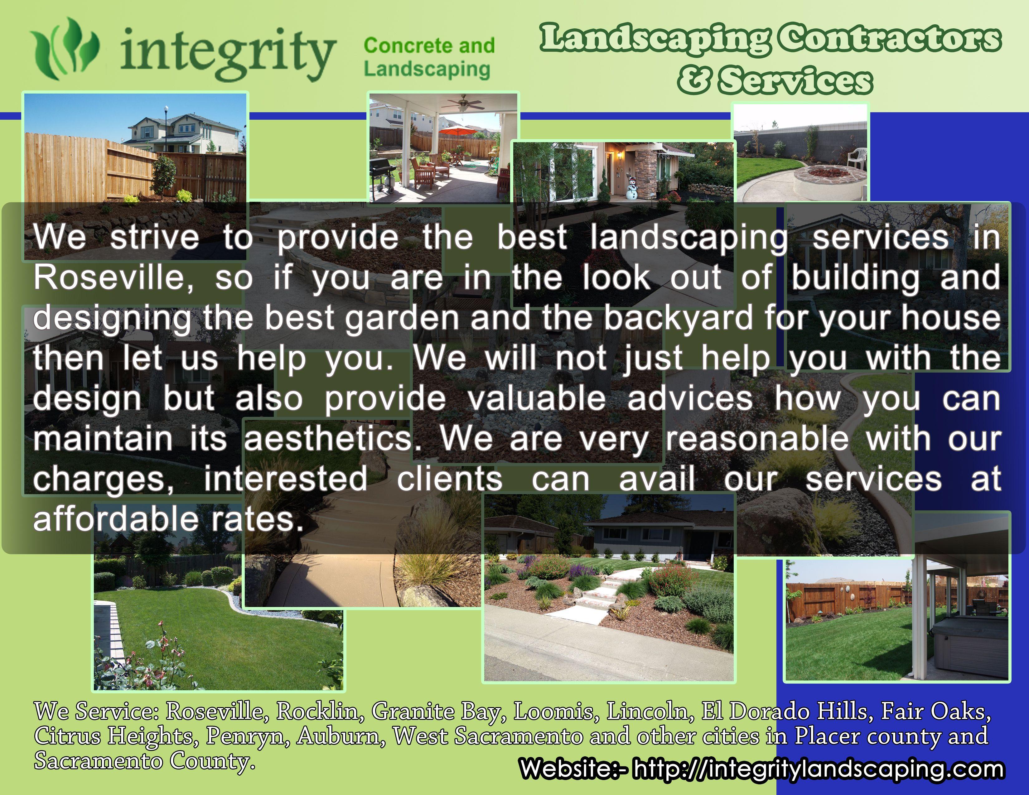 Landscape Contractors Near Sacramento Ca Better Business Bureau Start With Trust