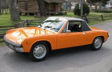 1970 porsche 914 signal orange bought new at ted mcwilliams porsche audi in monroeville pa. Black Bedroom Furniture Sets. Home Design Ideas