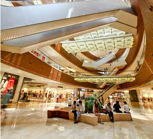 New Town Plaza Food Court In Hong Kong: Malls And Retail Environments