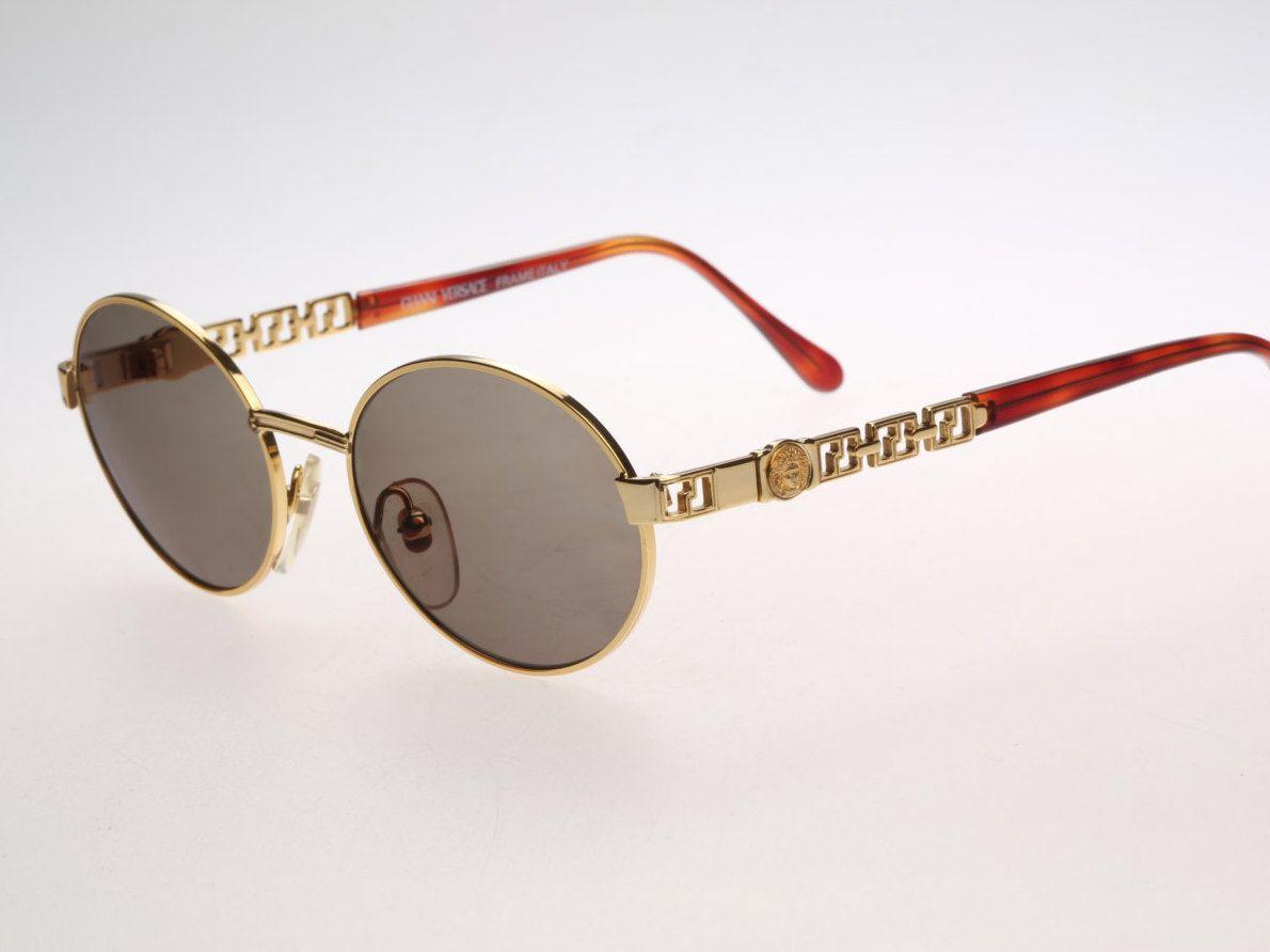 Gianni Versace Mod G43 Col 030 / Vintage sunglasses / NOS ...