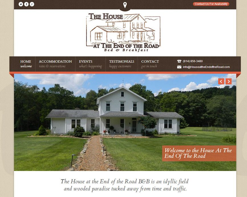 Website The House at the End of