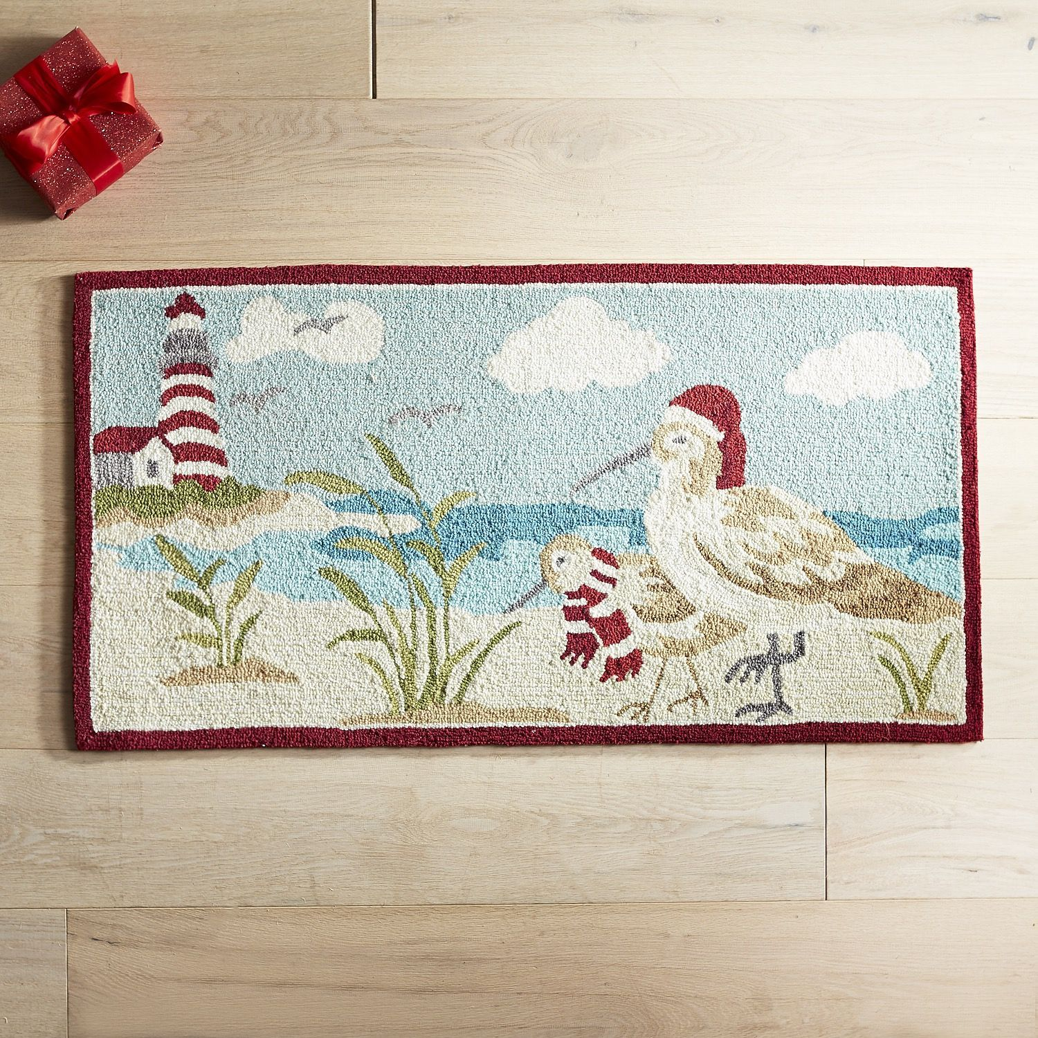 Winter Coastal Rug | *Home & Garden* | Pinterest | Accent rugs and ...