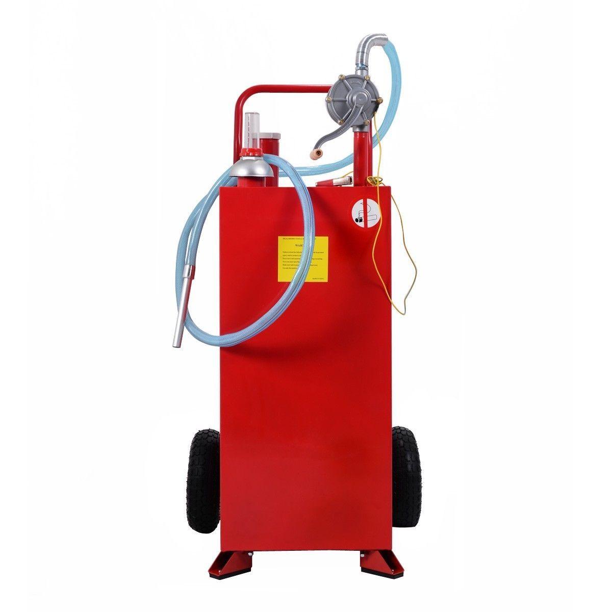 30 Gallon Gas Tank Storage Diesel Fuel Caddy Diesel Fuel Gas Tanks Fuel Storage