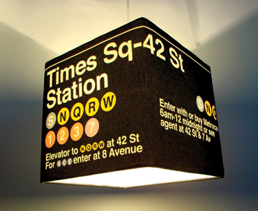 Large Times Square NYC New York City Decor Lamp Shade - Meninos ...