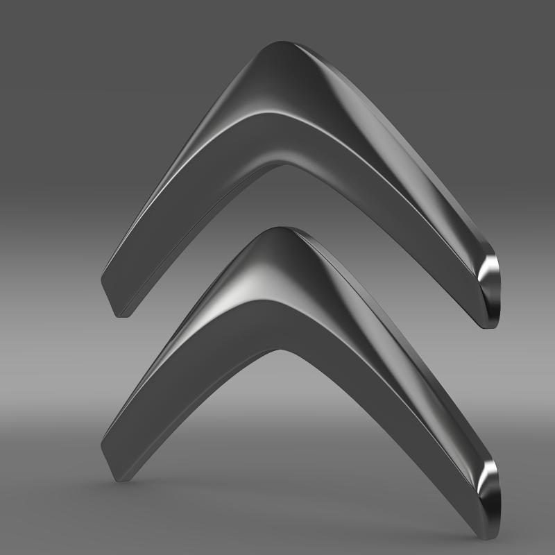 Citroen Logo v1 3D Model | Latest 3D Models | Citroen logo