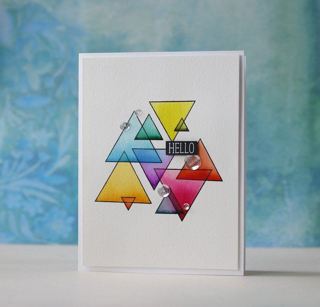 Altenew Watercolor Brush Markers Sohcahtoa Altenew Cards