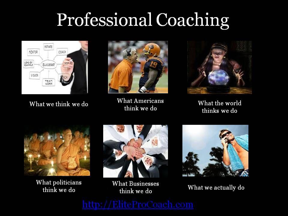 professional coaching meme
