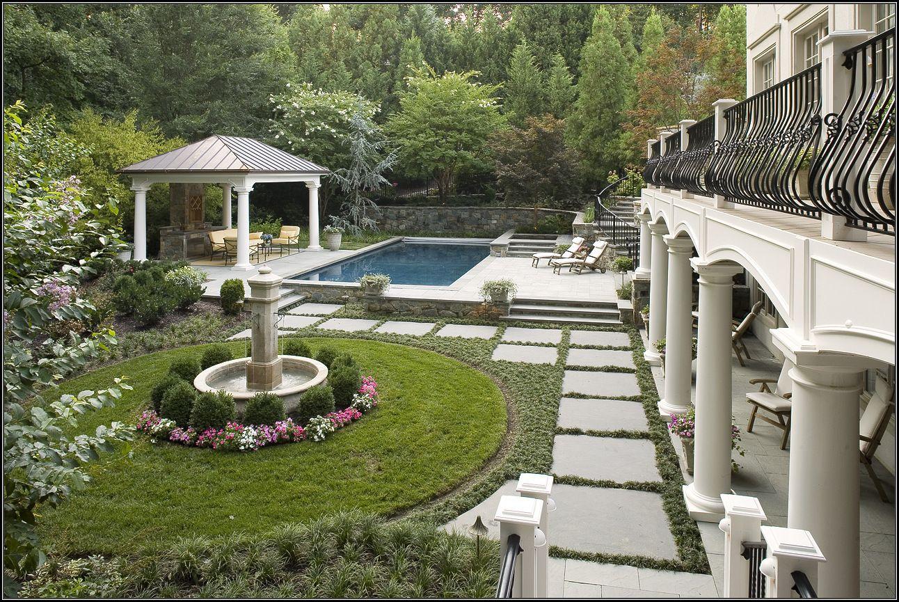 Backyard Landscaping Landscape Design Style The Best Look For Your Yard Diy Landscape Backyard French Garden Design Landscape Design Backyard Landscaping
