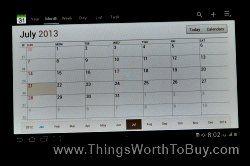 Desk Calendar App Of Samsung Galaxy Tab 2 Samsung Galaxy Tab