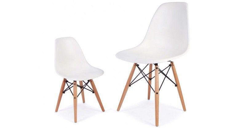 Kinder Stuhl Eames DSW Weiß Eames, Stühle, Haus deko
