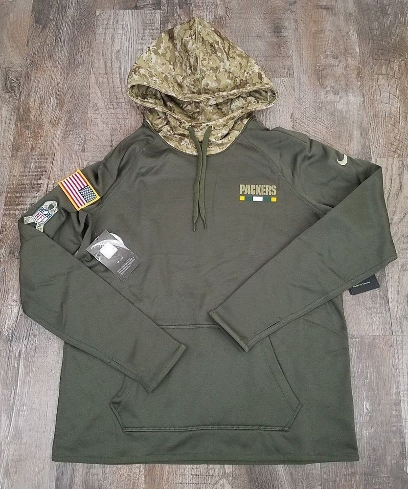 info for 6c961 56929 Nike NFL 2017 Green Bay Packers Salute To Service Womens ...