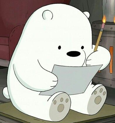 We Bare Bears Xmas Sticker By Plushism In 2020 Ice Bear We Bare Bears Bear Wallpaper We Bare Bears Wallpapers