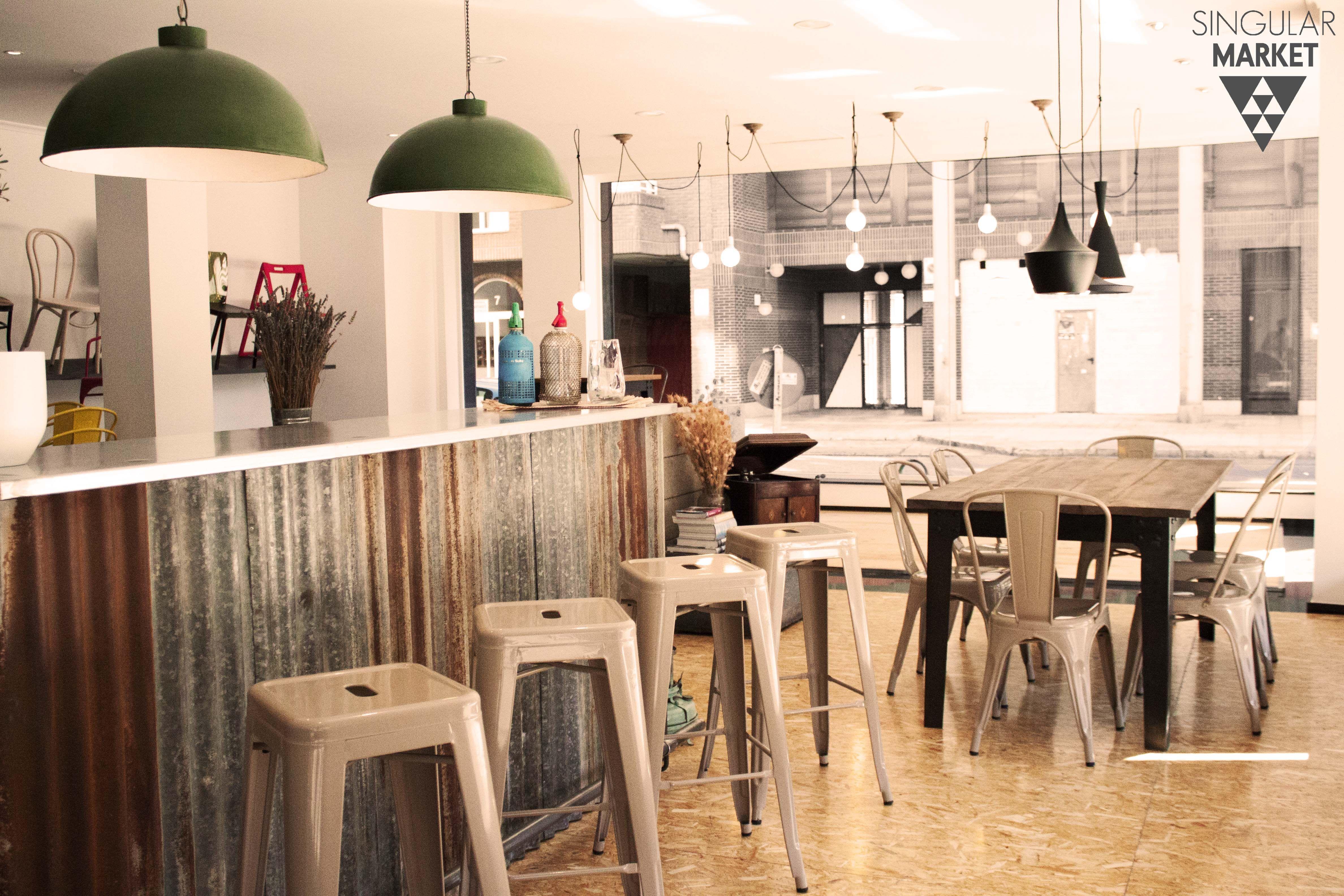 Muebles Estilo Vintage E Industrial L Mparas Taburetes Sillas Y  # Muebles Saskia Horario