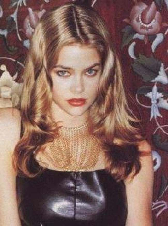 7d19ddb325c Young Denise Richards in Black is listed (or ranked) 6 on the list 19  Pictures of Young Denise Richards