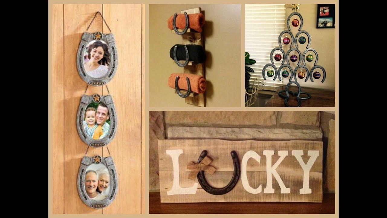 Horseshoe Craft Ideas Recycled Home Decor Horseshoe Decor