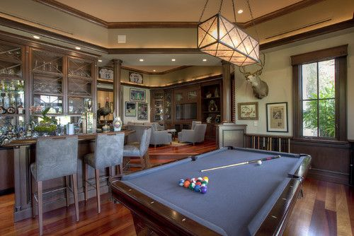 Have A Ball With Your Billiard Room Media Room Design Home Theater Design Pool Table Room