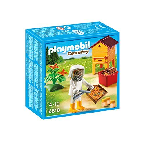 PLAYMOBIL® 6818 Beekeepers with Smoker and Hive PLAYMOBIL®
