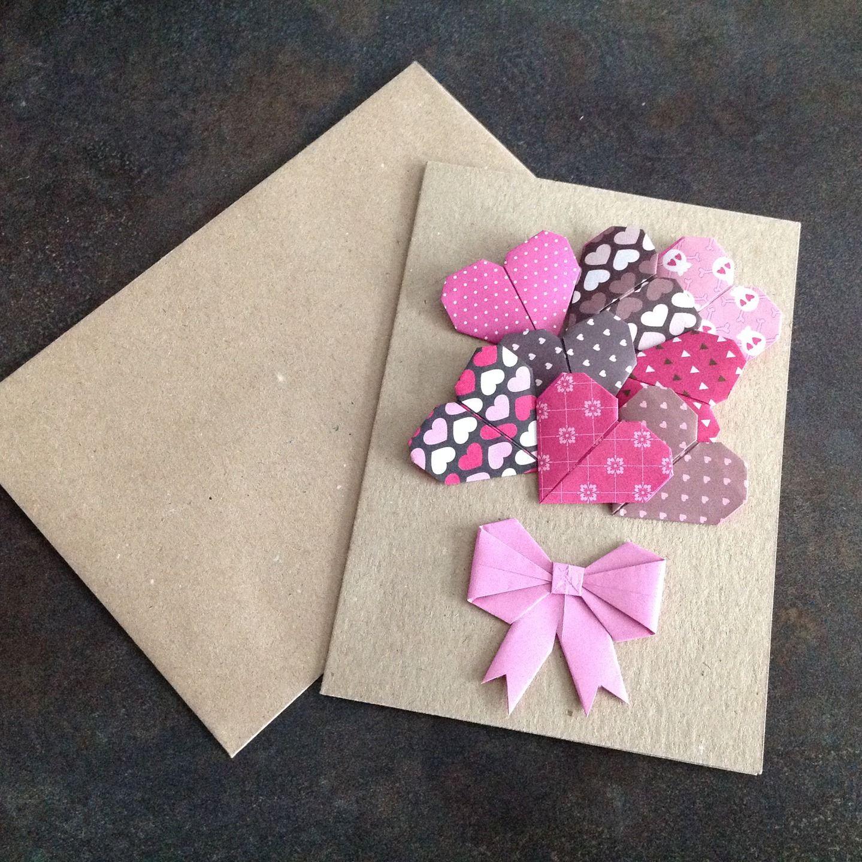оставлять простая открытка оригами своими руками следовать рекомендациям поэтапно
