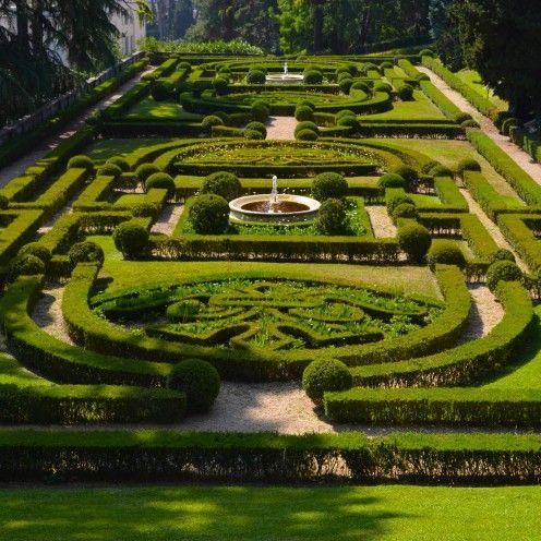 A Visit To The Vatican Gardens Formal Gardens Garden Design Beautiful Gardens