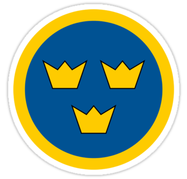 adesivo BANDIERA FLAG SVEZIA sweden Schweden sticker aufkleber pegatina