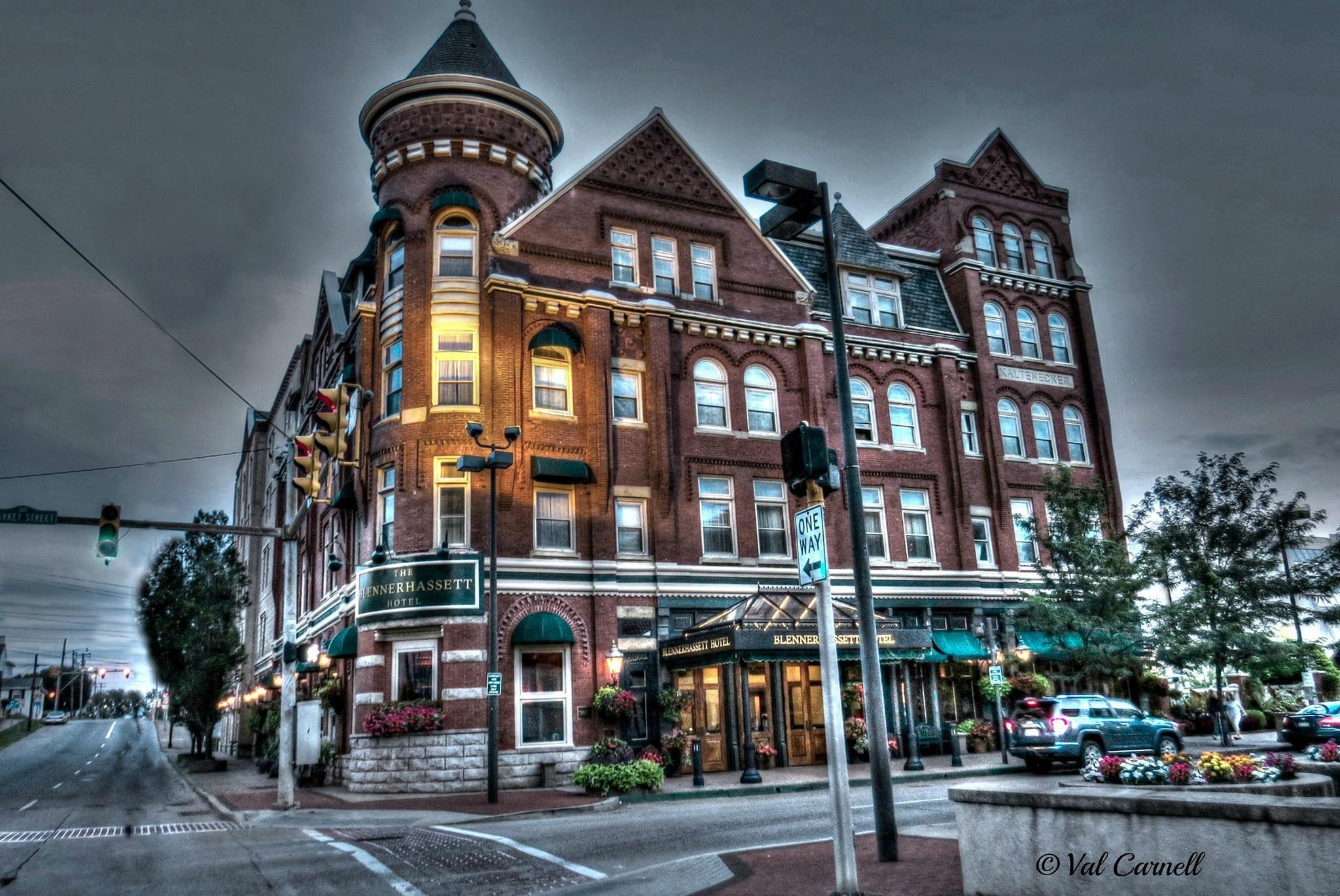 Parkersburg Wv The Blennerhett Hotel Built In 1889 Reported To Be