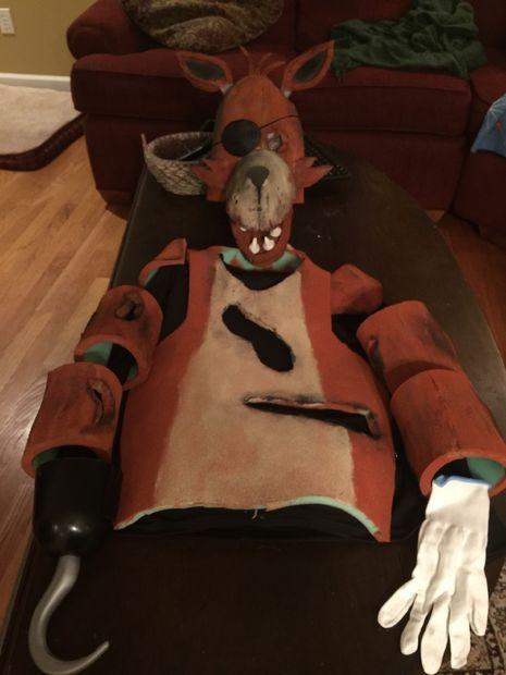 Best 25 Foxy Costume Ideas On Pinterest Fnaf Foxy