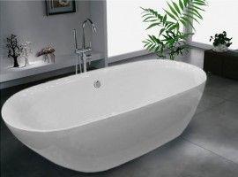 Freistehende Badewanne Roma Acryl Weiß Bs 916 180x84 Inkl Ab