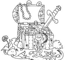 Pirate activities: Lots of FREE pirate-themed coloring