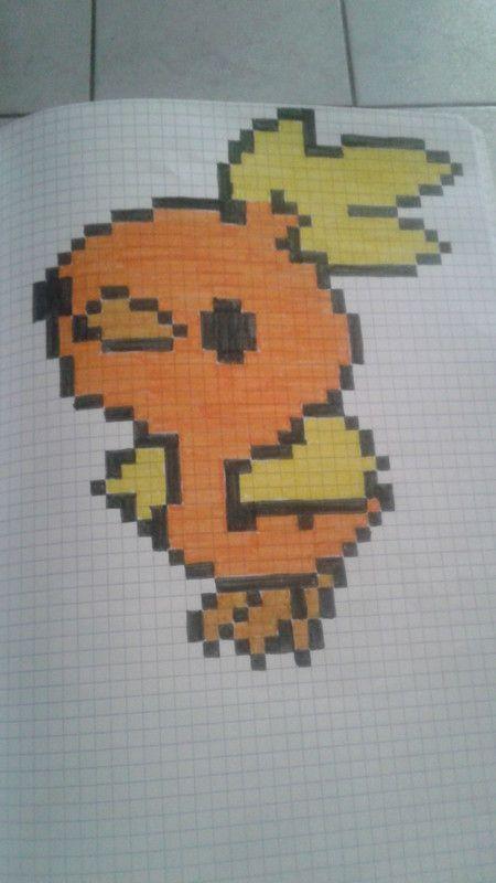 Poussifeu Pixel Art Pixel Art Pokemon Et Dessin Pixel