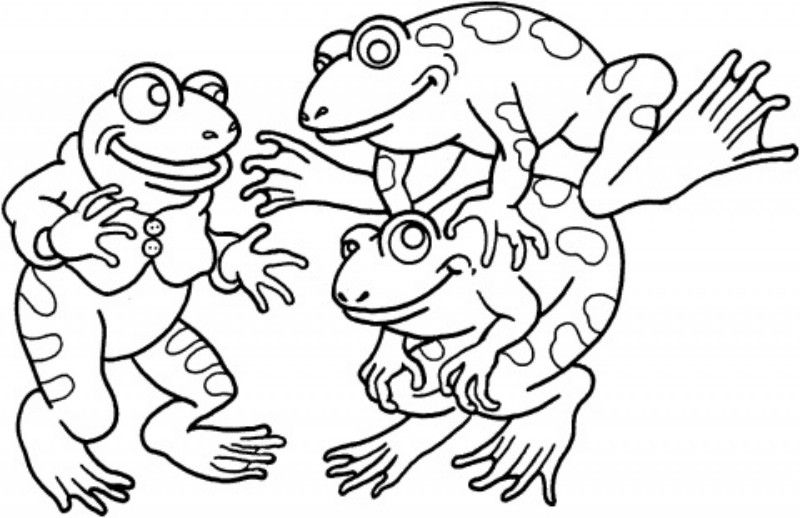 Beautiful Coloring Pages Of Frogs Free For All Animal Vista Animal Coloring Pages Frog Coloring Pages Princess Coloring Pages