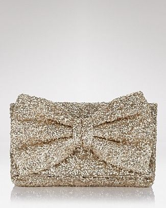a86a92ef74 Betsy Johnson Gold Sequin Clutch | Handbags and Accessories ...