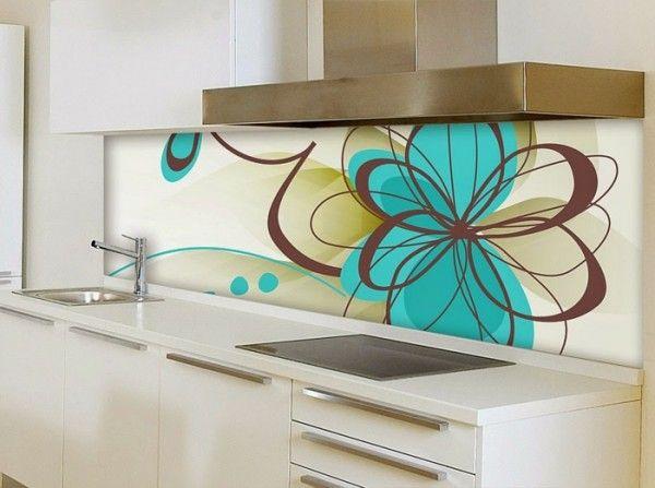 35 Küchenrückwände aus Glas - opulenter Spritzschutz für die Küche ...