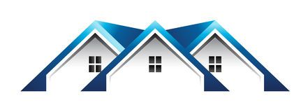 Roof Houses Logo House Roof Home Logo House Vector