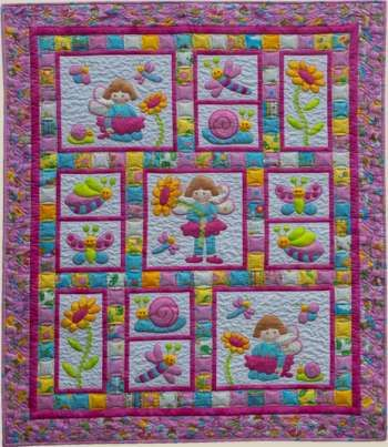 Pixie Girl - by Kids Quilts - Quilt Pattern - $20.00 : Fabric ... : patch quilt pattern - Adamdwight.com