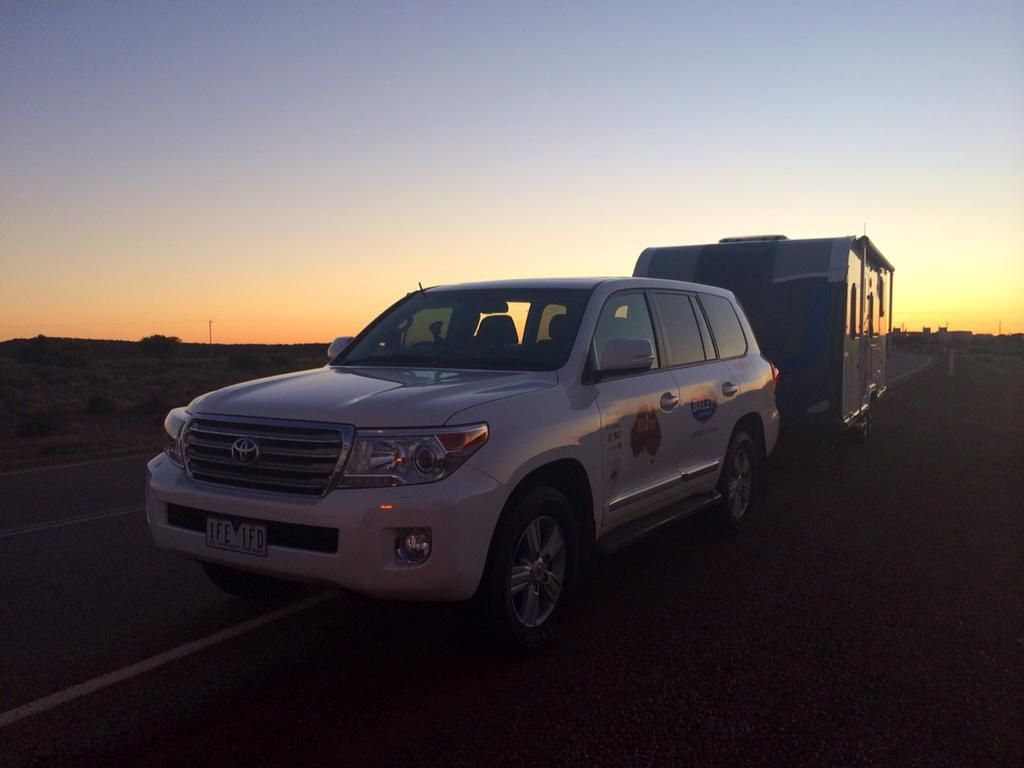 Bailey of Bristol on Twitter: Day One: @BaileyofBristol caravans have handled the 736 kms of bitumen roads with aplomb. Tougher tests ahead though