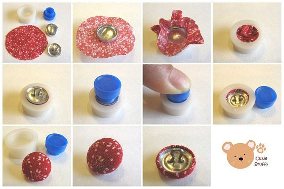 Cover Button Kit Flat Backs 1 2 Inch Size 20 Starter Kit Etsy In 2020 Diy Buttons Cover Buttons Diy Covered Buttons