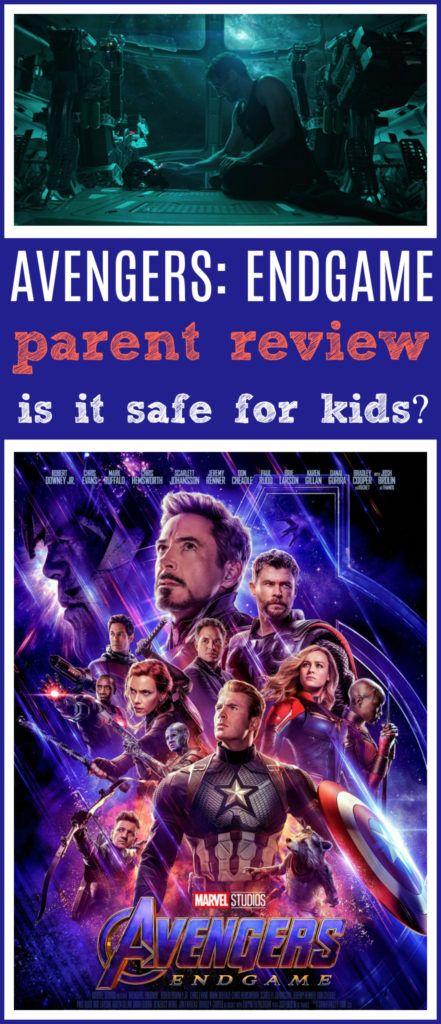 Avengers Endgame Movie Review Kids safe, Disney world