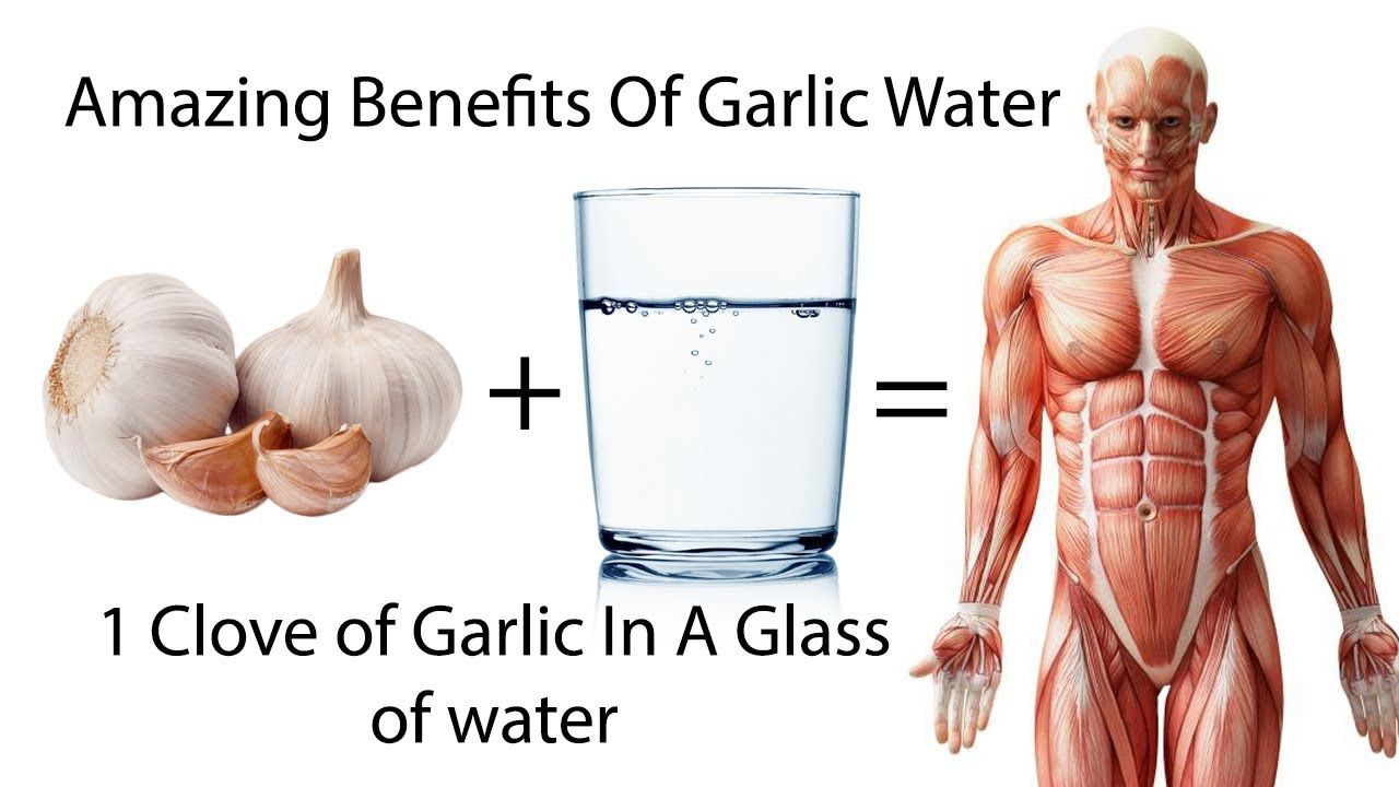 if your drink garlic with water every day, amazing things