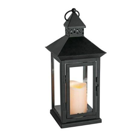 Amazon Com Everlasting Glow Indoor Outdoor Flameless Candle Lantern With Timer Bisque 8 1 2 By 14 1 2 I Lantern Candle Decor Outdoor Candles Candle Lanterns