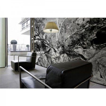 Diese Fototapete ist für jeden der gerne auf schwarz weiß steht - fototapete wohnzimmer schwarz weiss