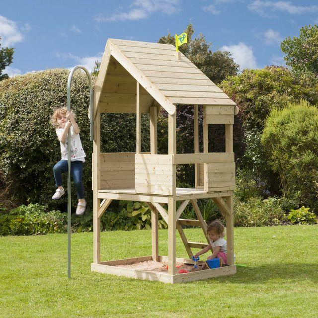 Outdoor Toys Casita Infantil De Madera Tp Chalet Outdoor Toys En