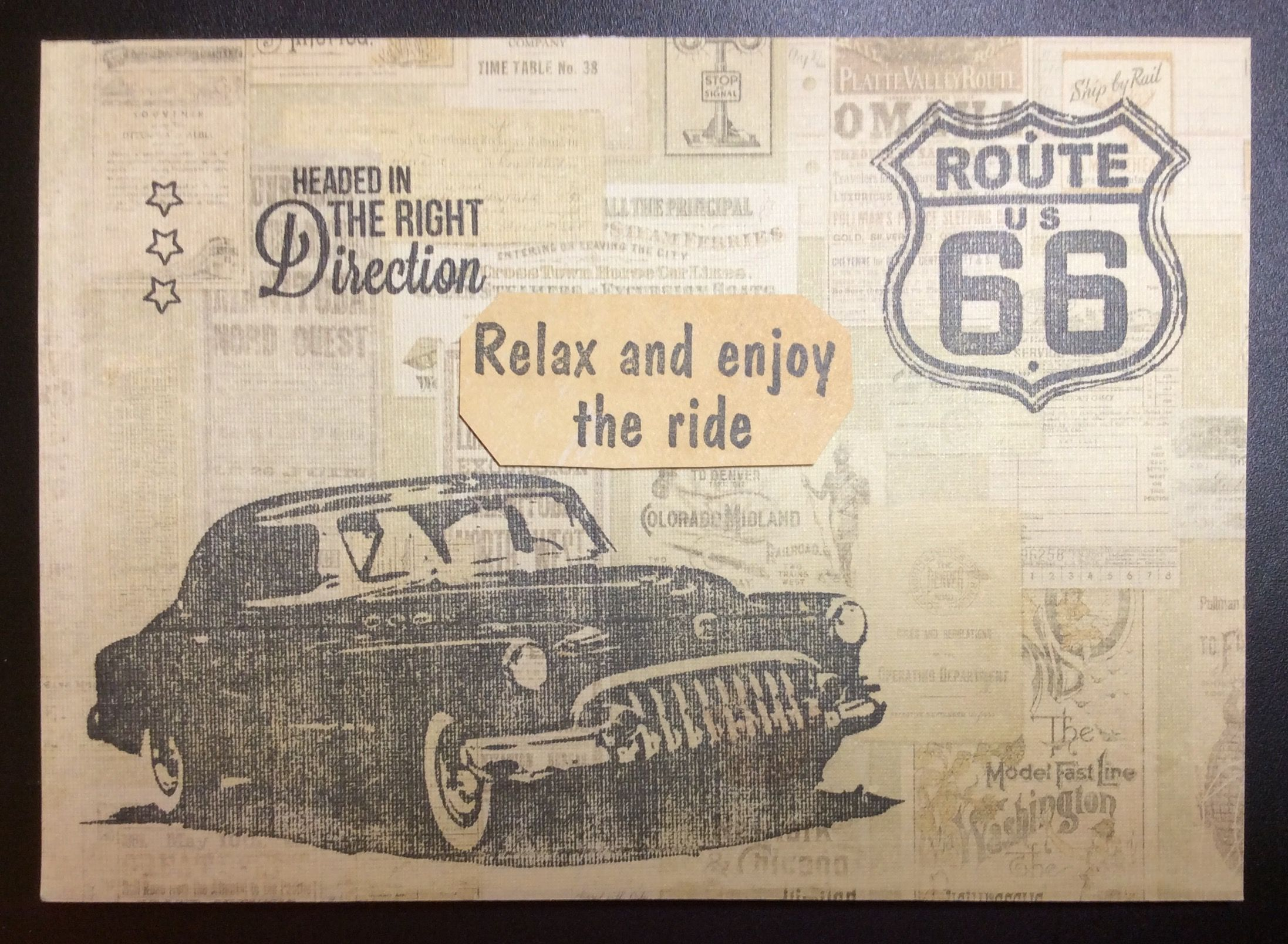 Tim Holtz Road Trip