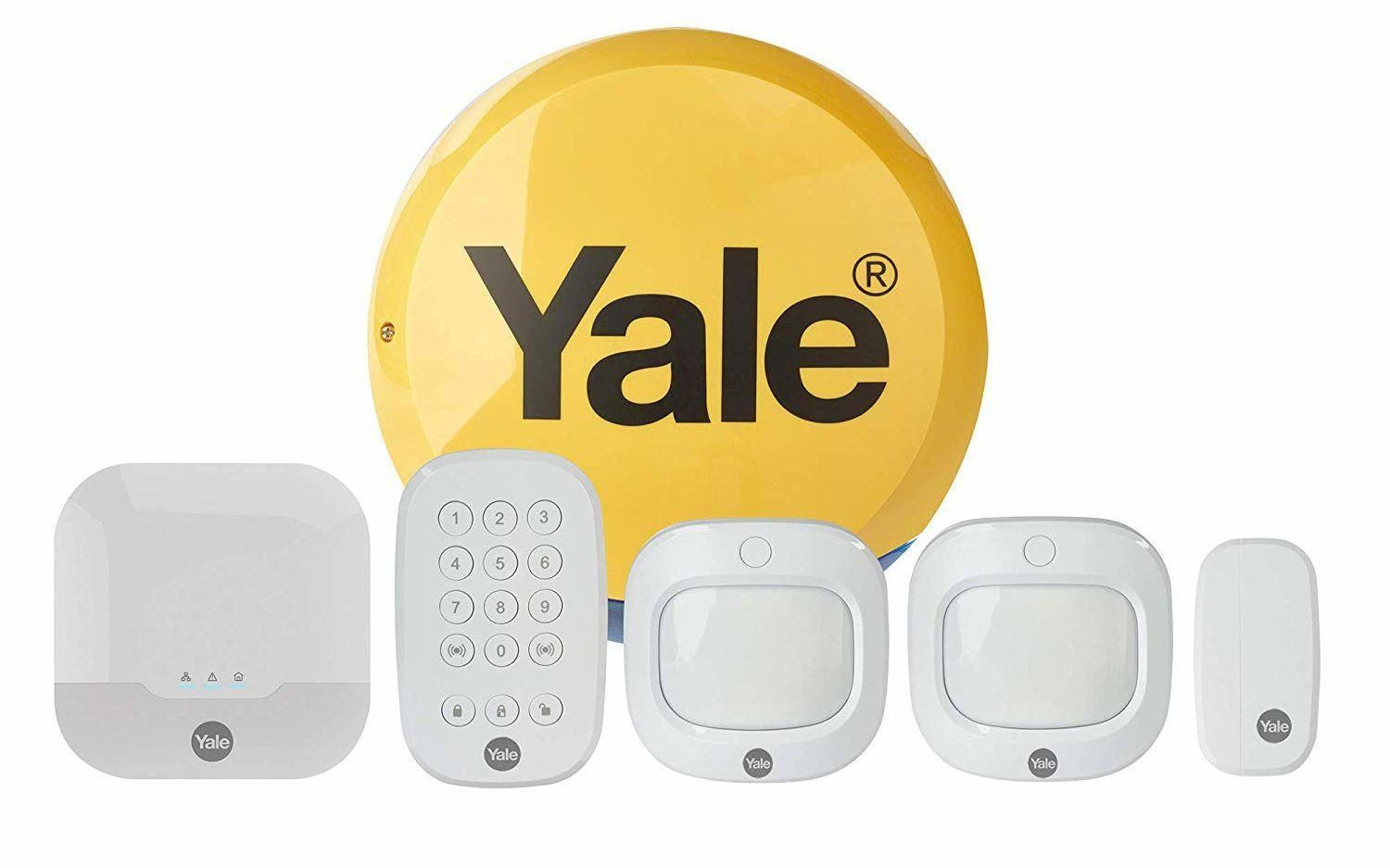 Yale Launches Sync Smart Home Alarm An Alexa Enabled Alarm That Integrates With Philips Hue Fo Home Security Systems Smart Home Security Alarm Systems For Home