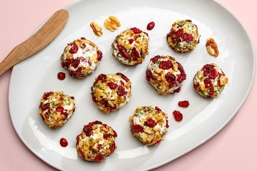 Goat Cheese Balls Try This tasty Recipe from Ocean